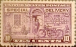 Stamps : America : United_States :  10 cents. 1922