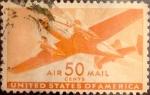 Sellos de America - Estados Unidos -  Intercambio 3,25 usd 50 cents. 1941