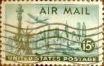 Sellos de America - Estados Unidos -  Intercambio 0,20 usd 15 cents. 1947