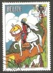Stamps Belize -  La Bella Durmiente