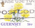 Stamps : Europe : United_Kingdom :  FLORES- GUERNSEY
