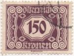 Sellos de Europa - Austria -  Y & T Nº 118 - Taxe