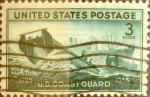 Sellos de America - Estados Unidos -  Intercambio 0,20 usd 3 cents. 1945