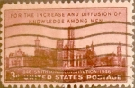 Stamps United States -  Intercambio 0,20 usd 3 cents. 1946