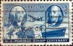 Sellos de America - Estados Unidos -  Intercambio cxrf2 0,20 usd 3 cents. 1947