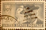 Stamps United States -  Intercambio 0,20 usd 3 cents. 1951