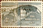 Stamps : America : United_States :  Intercambio js 0,20 usd 4 cents. 1962