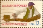 Sellos de America - Estados Unidos -  Intercambio 0,20 usd 13 cents. 1977