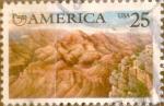 Sellos del Mundo : America : Estados_Unidos : Intercambio js 0,20 usd 25 cents. 1990