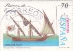 Sellos de Europa - España -  Barcos de Epoca- Jabeque Tajo (18)