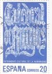 Stamps Spain -  Patrimonio Cultural de la Humanidad- Catedral de Burgos (18)