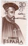 Sellos de Europa - España -  Antonio de Mendoza -forjadores de América(18)