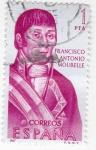 Sellos de Europa - España -  Francisco Antonio Mourelle -forjadores de América(18)