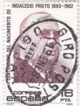 Stamps Spain -  Indalecio Prieto 1883-1962  (18)