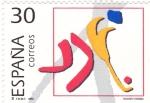 Sellos de Europa - España -  Hockey Hierba (18)