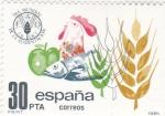 Stamps Spain -  Día Mundial de la alimentación (18)