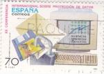 Sellos de Europa - España -  Conferencia Internacional sobre Protección de datos (18)