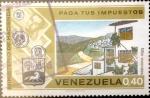 Sellos de America - Venezuela -  Intercambio nf2b 0,25 usd 40 cents. 1974