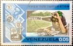 Stamps Venezuela -  Intercambio 0,25 usd 5 cents. 1974