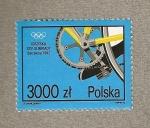 Stamps Poland -  Olimpiadas Barcelona 1992