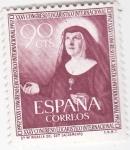 Stamps Spain -  XXXV Congreso Eucarístico Internacional (18)