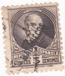 Stamps Spain -  Pi Margall-político (Marruecos) (18)
