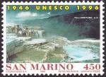 Stamps San Marino -  ESTADOS UNIDOS - Parque Nacional Yellowstone