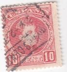 Sellos de Europa - España -  Alfonso XIII- Tipo cadete (18)