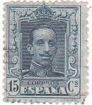 Sellos de Europa - España -  Alfonso XIII- Tipo Vaquer (18)