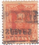 Stamps Spain -  Alfonso XIII- Tipo Vaquer (18)