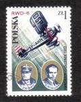 Stamps Poland -  F.Zwirko and S.Wigura, 1932
