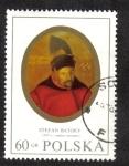 Sellos del Mundo : Europa : Polonia : King Stefan Batory (1533-1586), anonymous painter