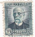 Sellos de Europa - España -  Nicolas Salmerón (18)