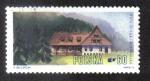 Sellos de Europa - Polonia -  Mountain Lodges in Tatra National Park