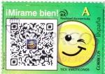 Stamps Spain -  Tics Emoticones (18)
