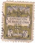 Sellos de Europa - España -  Exposición de Barcelona (sin Valor postal) (18)