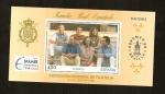 Sellos del Mundo : Europa : España : Espamer Sevilla 96   - Familia Real Española HB Exposicion Mundial de Filatelia