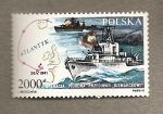 Sellos de Europa - Polonia -  Operacion hundir al Bismark
