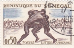 Stamps  -  -  SENEGAL- cambio