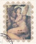 Stamps Equatorial Guinea -  Pintura desnudo