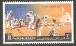 Sellos de Asia - Emiratos Árabes Unidos -  Ajman - Apolo 15