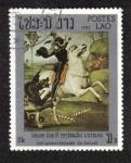 Sellos de Asia - Laos -  Raphael, 500th birth anniv.