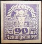 Stamps Austria -  Mercurio