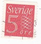 Sellos de Europa - Suecia -  Cifra