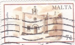 Sellos de Europa - Malta -  San Basilio