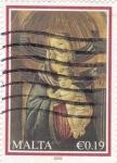 Sellos de Europa - Malta -  La Virgen y el Niño
