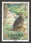 Sellos de Europa - España -  2102 - Topo de agua