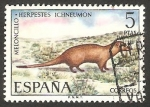Sellos de Europa - España -  2105 - Meloncillo