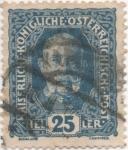 Stamps Austria -  Y & T Nº 150