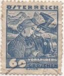Sellos de Europa - Austria -  Y & T Nº 455